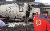 پیام تسلیت وزوان آنلاین در پی  حادثه سقوط هواپیما