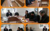 جلسه ی اعضای کمیسیون عالی سرمایه گذاری  بخش خصوصی با حضور مهندس مظفریهاو شهردار وزوان