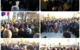 تصاویر  ادای احترام استاندار اصفهان دکتر عباس رضایی به شهدای شهر های وزوان و میمه  و روستاهای  ازان ، خسرو آباد و ونداده
