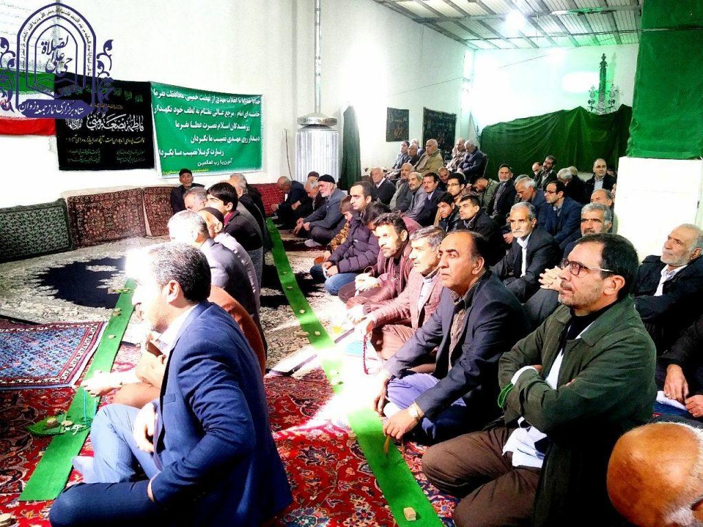 نماز جمعه در مسجد صاحب الزمان  وزوان برگزار می گردد و  اثرات معنوی نماز بر روح و روان انسان