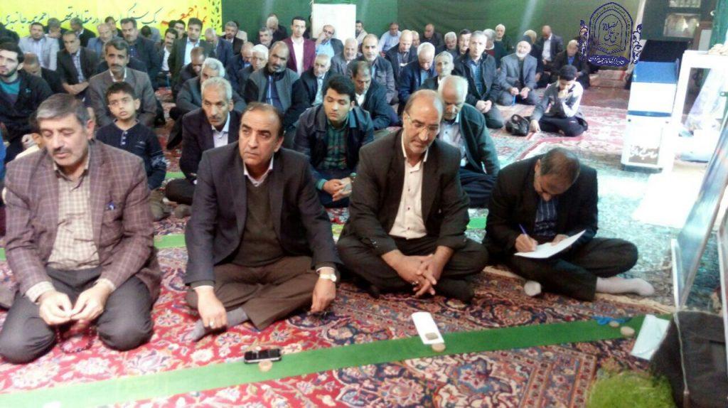 گزارش خطبه های نماز جمعه شهر وزوان ۹ فروردین ۹۸