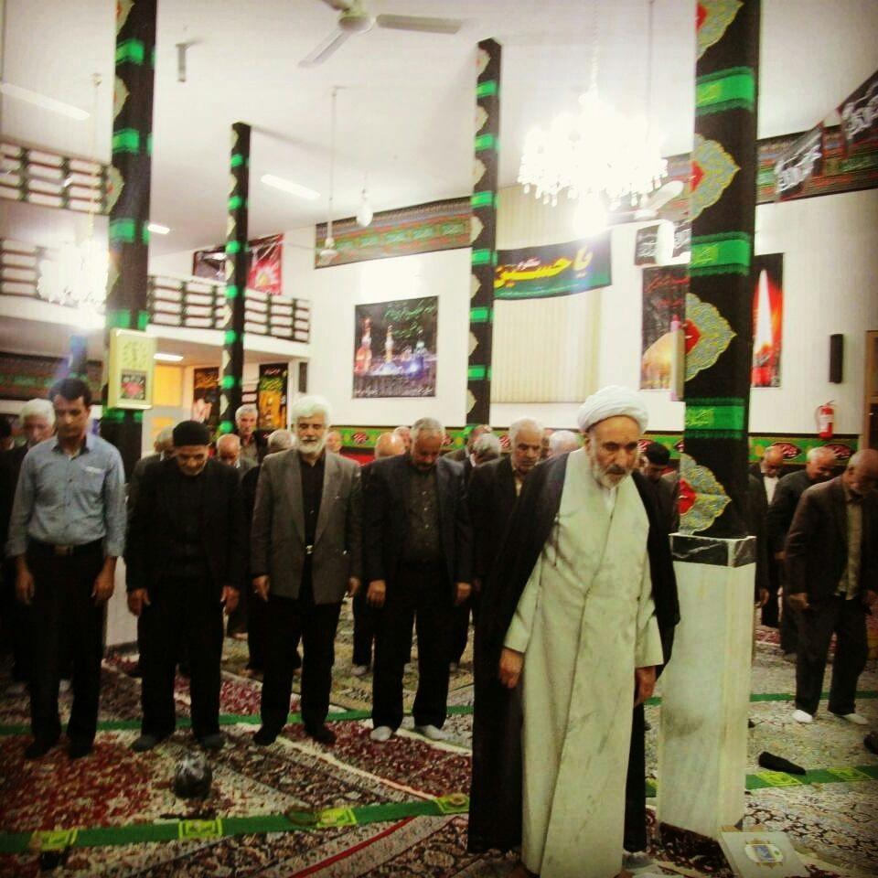 تسلیت ستاد نماز جمعه و مراسم وزوان  بمناسبت درگذشت آقای رحیمی