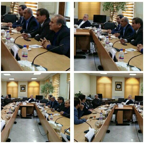 جلسات شهردار و اعضای شورای اسلامی شهر وزوان در سال ۹۸ دراستانداری اصفهان