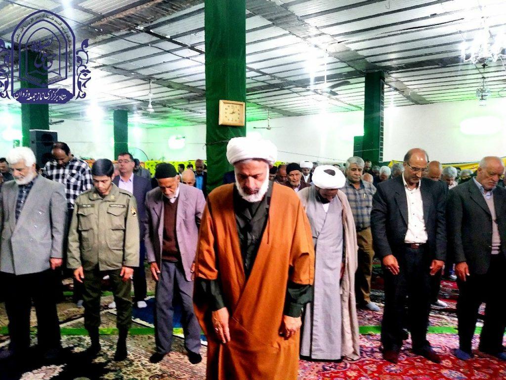 گزارش خطبه های نماز جمعه شهر وزوان  ۳۰ فروردین ۹۸
