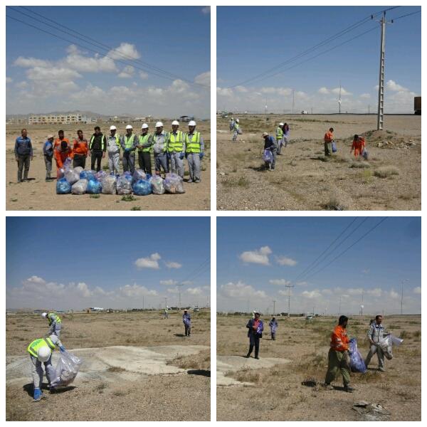 شهرداری وزوان :روز جهانی زمین پاک و روز دوستی با سیاره آبی