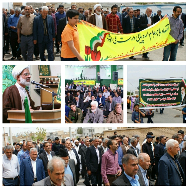 گزارش خطبه های نماز جمعه شهر وزوان  ۱۰ خرداد ۹۸