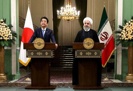 روحانی: آغازگر هیچ جنگی حتی با آمریکا نخواهیم بود | شینزو آبه: درباره کاهش تنشها گفتوگو کردیم