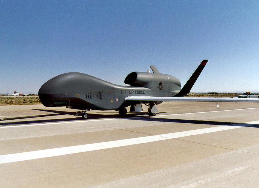 آمریکا هدف قرار گرفتن پهپاد خود بر فراز تنگه هرمز را تایید کرد