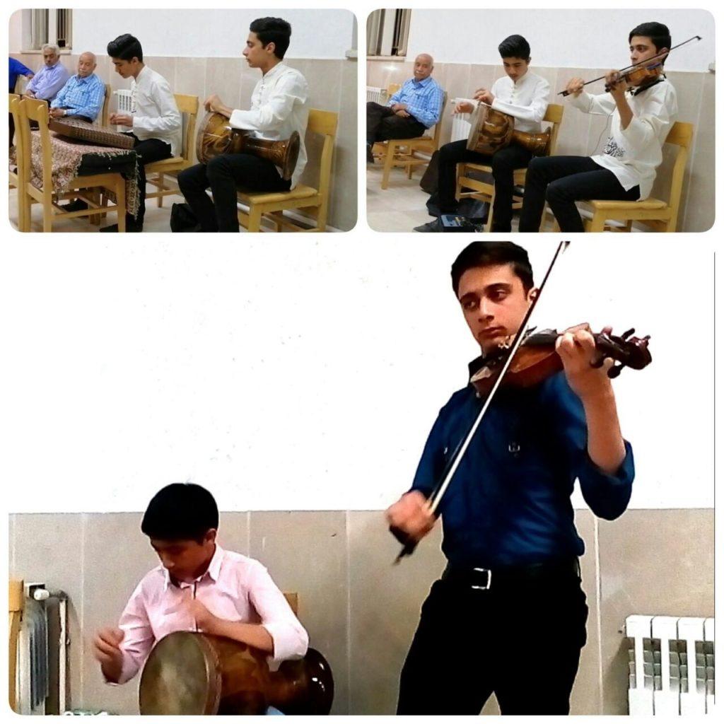 حسینی پور :هنر این دو نوجوان دوستداشتنی در عرصهٔ موسیقی حقیقتاً ستودنی است. پویان و پیمان طاحونه