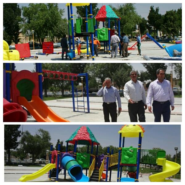 پارک لاله وزوان :تابستان گرمِ  گرم است آفتابش داغ و سوزان   اما من دوستش دارم چون تعطیل است دبستان