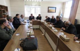  برگزاری جلسه رسیدگی به وضعیت آبرسانی شهرک صنعتی گلستان شهر وزوان