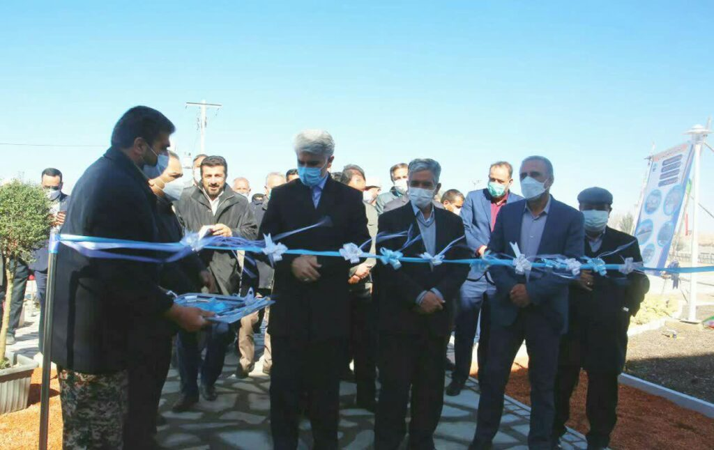 افتتاح پروژه ساختمان شهرداری لایبید وکلنگ زنی ساختمان خانه سالمندان